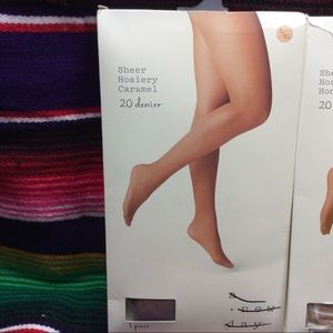 a new day Accessories - BUNDLE OF 3  A NEW DAY WOMEN'S PANTYHOSE L/XL